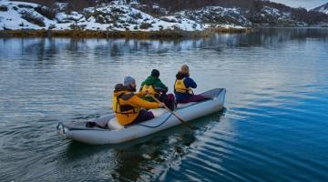 Parque Nacional con Trekking y Canoas