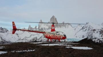 Sobrevuelo en Helicóptero Laguna Esmeralda